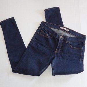 J Brand Skinny Straight Jeans Women 29 Dark Wash